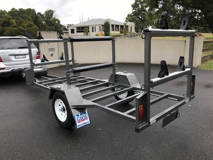 10x4 Kayak/Canoe Trailer - Single or Double Carrier