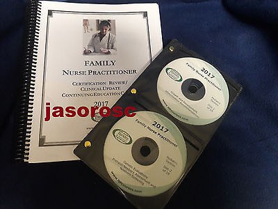 2017 Barkley Family Nurse Practitioner Review Book   Cds Authentic  Free Ship