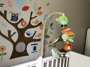 Skip Hop Crib Musical Mobile With Extra Accessories