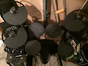 Yamaha electronic drum set - a steal