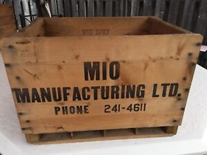 Vintage wood soda crates