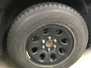 17 inch oem gm full-size truck wheels and  tires