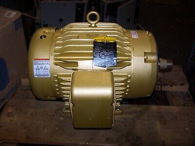 New Baldor 10 Hp Ac Electric Motor 215tc 230460 Vac 3490 Rpm Tefc Cem3771t