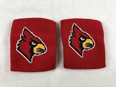 NEW NCAA Louisville Cardinals - Men's Red Wristbands -