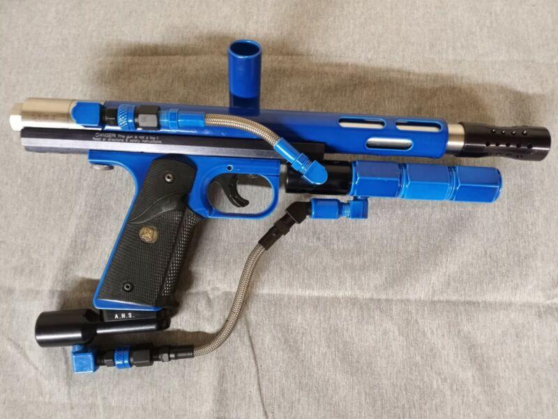 airgun designs automag minimag agd paintball marker lightly used ans gear custom