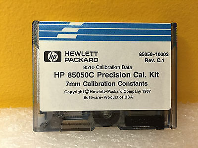 Hp Agilent 85050-10003 Rev C.1 85050c Precision Cal Kit For 7mm Constants