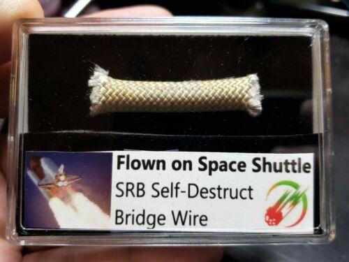 UPDATED!  Flown Piece of SPACE SHUTTLE!! SRB Self-Destruct Manifold Bridge Wire