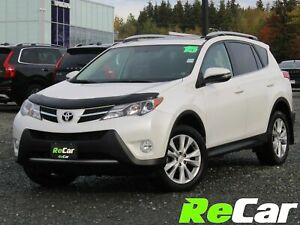 2015 Toyota RAV4 Limited HEATED LEATHER | NAV | SUNROOF | BAC...
