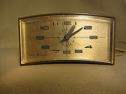 Vintage General Electric GE 7382 Analog Dial Alarm Clock Tested