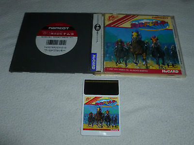 Japanese Import Pc Engine Hu Card Game World Horse Jockey Complete Turbo Duo
