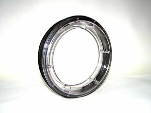 220mm Polycarbonate Double Porthole Window 23/25mm thickness caravan teardrop