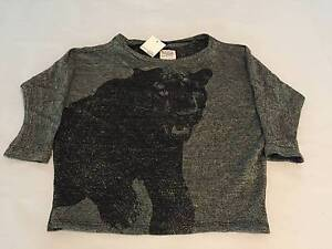 Zara Metallic Cougar / Panther Jumper Small NWT Potts Point Inner Sydney Preview