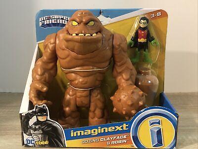 Fisher Price Imaginext DC Super Friends Oozing Clayface & Robin Villain Batman
