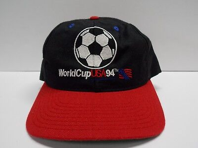 VTG World Cup USA 94 Soccer Baseball Hat Cap Snapback by the Game Made in USA