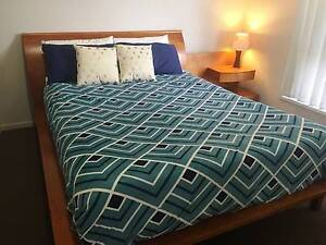 Queen bed with 2 side tables and new mattress North Lakes Pine Rivers Area Preview