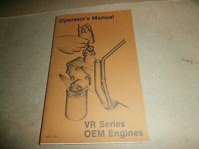 Waukesha Vr Series Oem Engines Operators Manual