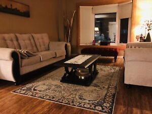 Ashley Sofa set with coffee tables