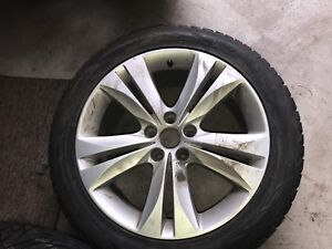 18 inch Nokian Hakkapeliitta R2 winter tires and rims for sale