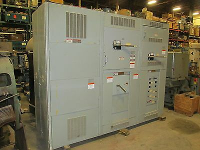 Ite Power Distribution Panel Substation 2000 Amp Switch Board 2566lr