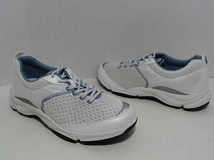 Dr Weil by Orthaheel RHYTHM Walker Shoes White / Blue Size US 5 - 11 Med