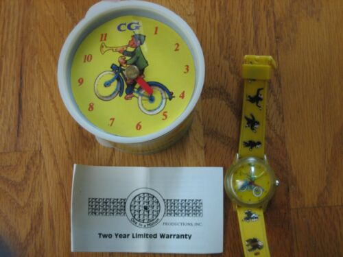 Curious George watch new in package never used One In a Million wristwatch