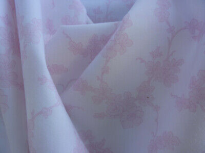 Rachel Ashwell Shabby Chic Beautiful Climbing PINK  Roses Cotton  Fabric 1 yd.