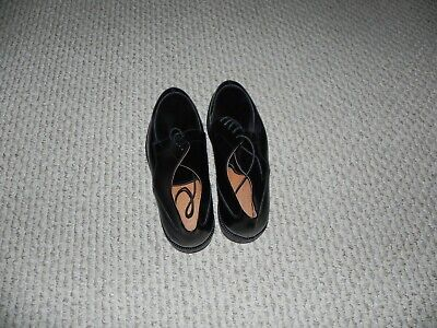 JOHNSTON&MURPHY Made in Italy Leather Men's Black shoes size -13UK