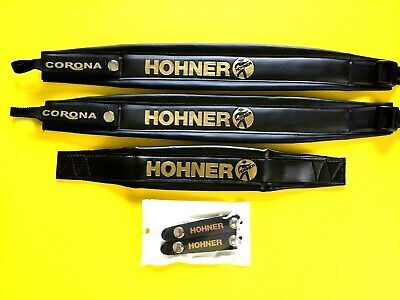 HOHNER STRAPS AND BELLOWS STRAPS IN COMBO.