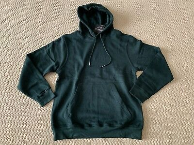 NWT Men's Break Out Classic Solid Hunter Green Pullover Hoodie Sweatshirt S-3XL