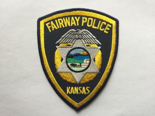 Fairway KANSAS Police Patch