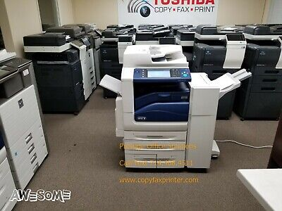 Xerox Workcentre 7855 Color Copier Printer. Showroom Quality. Low Meter