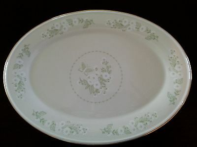 LENOX  SPECIAL DAISY LARGE OVAL SERVING PLATTER 16