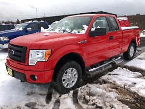 2012 Ford F-150 STX, Extended Cab, Automatic, 4x4, 114, 000km