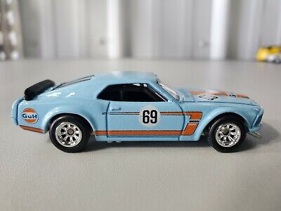 HOT WHEELS 2019 CAR CULTURE GULF RACING '69 FORD MUSTANG BOSS 302 Loose