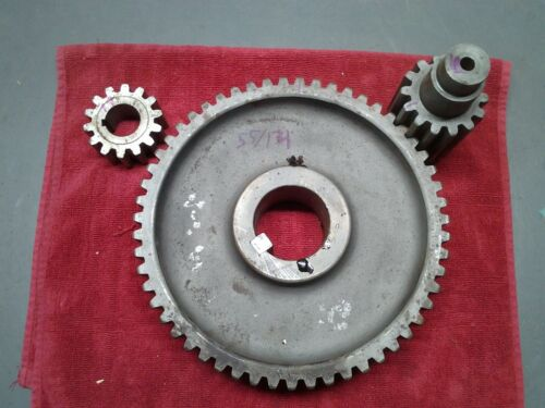 "9-1/4"" Diameter machine Parts gear 55 teeth tooth 2-1/4"" Hole/ 14 tooth pinion."