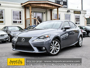 2014 Lexus IS 250 AWD LEATHER H.SEATS WOW!!
