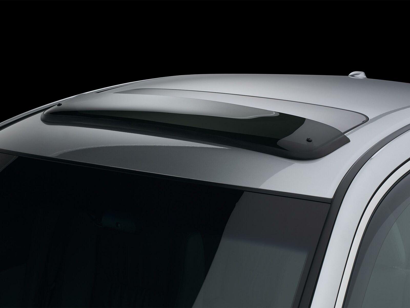 Dark Smoke WeatherTech Custom Fit Sunroof Wind Deflectors for Honda Civic Coupe//Si Coupe