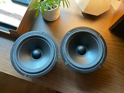 "Pair of Vifa P17WJ - 00 6.5"" midbass woofers speaker driver"