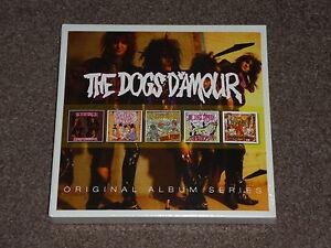 DOGS D'AMOUR - Original Album Series x 5 CDs - 2016 NEW SEALED