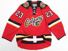 SEAN MONAHAN CALGARY FLAMES AUTHENTIC THIRD REEBOK EDGE 2.0 7287 HOCKEY JERSEY