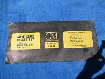 1955 Pontiac all Series Valve Grind Gasket Kit NOS GM # 520113