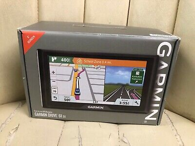 "Garmin Drive 61 EX 6"" screen GPS Navigator System - EXCELLENT!"