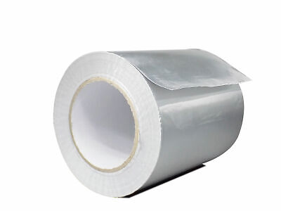 Wod Heavy-duty Aluminum Foil Tape For Hvac Air Ducts 4 In. X 50 Yds