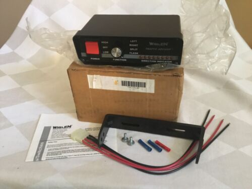 WHELEN TRAFFIC ADVISOR, Control Head, Model TACTL3A w/ accessories