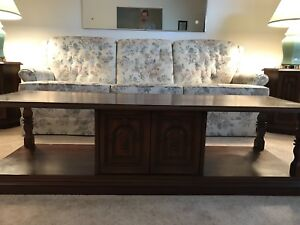 Coffee Table, 2 matching end tables and 1 matching side table.