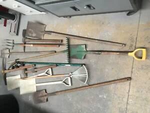 Gardening tools Assorted