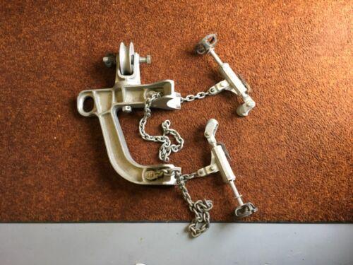 Hubbell Chance C85W multi-duty gin mounting bracket/transformer gin...NICE!