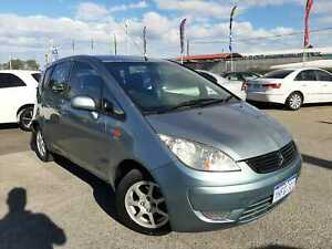 2009 Mitsubishi Colt RG MY07 ES Blue Automatic Continuous Variable Hatchback Cannington Canning Area Preview