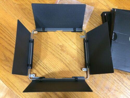 GVM Universal Barn Door Light Modifier Kit for GVM-520 & 672 LED Video Lights