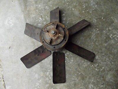 Massey Harris 44 Tractor Engine Motor 6 Blade Fan